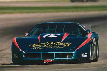 Racing history from 1986 1995 - Tim Clark - Corvette by JPS Racing